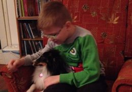 Kisgyerekkel, aki túl fantáziáló, szorongó, de a kutya teljesen feloldotta, javaslatomra a szülők vesznek neki kutyát, sőt terápiás kutya képzésre is járni fognak.
